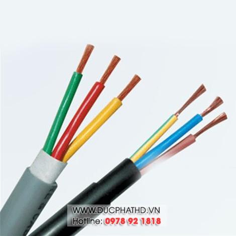 Dây điện 3 sợi mềm Trần Phú 3x1,5 mm2