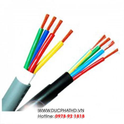 Dây điện 4 sợi mềm Trần Phú 4x1,5 mm2